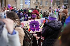Il s'agit de la deuxième édition de la Grève des femmes. ((Photo: Romain Gamba / Maison Moderne))
