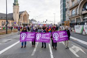 La plateforme JIF (Journée internationale des femmes) est à l'initiative de cette grève des femmes. ((Photo: Romain Gamba / Maison Moderne))