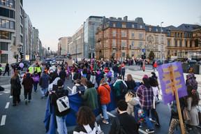 La manifestation s'est déroulée sans le moindre accident, dans une ambiance chaleureuse. ((Photo: Romain Gamba / Maison Moderne))