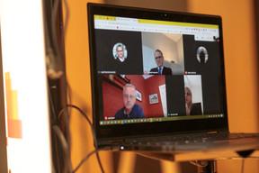 Télétravail, réunions connectées, visioconférences… L'usage des outils numériques a explosé à la faveur de la crise sanitaire. ((Photo: Matic Zorman / Maison Moderne))