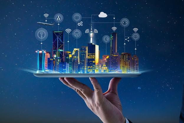 Les start-ups spécialisées dans la smart city devraient tirer leur épingle du jeu avec l'arrivée de la 5G. (Illustration: Shutterstock)