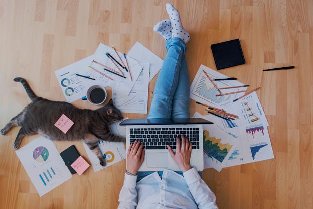 Fourniture du matériel, droit à la déconnexion, contrat écrit… Le CES propose des règles pour mieux encadrer le télétravail. (Photo: Shutterstock)