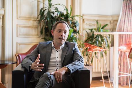 Olivier Selis, Responsable du Lux Future Lab. (Crédit: Jan Hanrion/Maison Moderne Publishing SA)