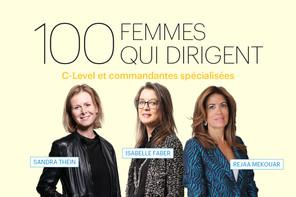 Sandra Thein, Isabelle Faber ou Rejaa Mekouar, quelques unes des 100 femmes qui dirigent au Luxembourg, présentées dans le Paperjam de mars (Illustration: Maison Moderne)