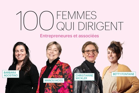 Barbara Agostino, Manou Hoss, Christianne Wickler ou Betty Fontaine, quelques unes des 100 femmes qui dirigent au Luxembourg, présentées dans le Paperjam de mars. (Illustration: Maison Moderne)