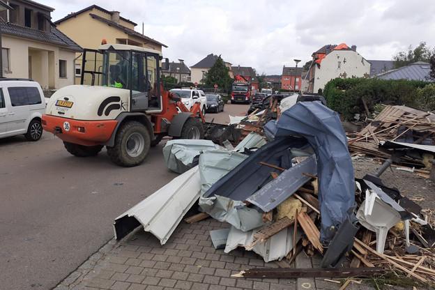 2.400 demandes d'indemnisation ont été reçues par les assureurs, dont 2/3 concernent les immeubles, et le reste les véhicules. (Photo: Paperjam)