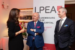 RajaaMekouar-Schneider (CEO de la LPEA), Norbert Becker ((Photo: Romain Gamba/Maison Moderne))