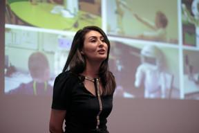 Aida Nazarikhorram (LuxAI), finaliste. ((Photo: Matic Zorman))