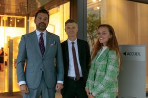 Pierre-Olivier Rotheval (Bil), Vincent Pelletier (Bil) et Ilana Devillers (Food4All). ((Photo: Matic Zorman))