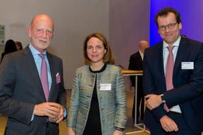 Freddy Brausch (Linklaters Luxembourg), Corinne Cahen (Ministre de la Famille et de l'intégration et de la Grande Région) et Philippe Glaesener (SES) ((Photo: Emmanuel Claude/Focalize))