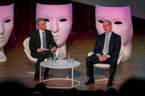 Patrick Geortay (Linklaters Luxembourg) et Gideon Moore (Linklaters London) ((Photo: Emmanuel Claude/Focalize))