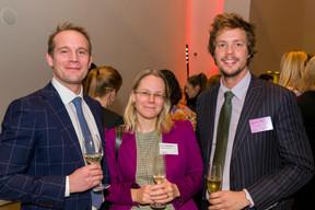 Ralph Beyer (Clearstream), Katrin Katzenberger (Royalton Partners), Harry Ghillemyn (Linklaters Luxembourg) ((Photo: Emmanuel Claude/Focalize))