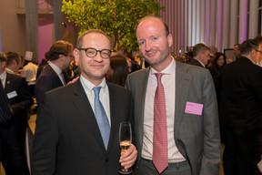 Raffaele Bortolotto (GLL Real Estate Partners) et Anton Cox (Linklaters Luxembourg) ((Photo: Emmanuel Claude/Focalize))
