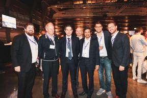 Pierre Rodenbourg (Bil), Robert Stoll (Stoll Group), Ben Eresch (Bil), Arnaud Groven (Bil), Johny Basher (Bil), Krystof Hon (Genista) ((Photo: Patricia Pitsch/Maison Moderne))