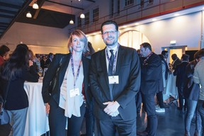 Melanie Delannoy et Adel Nabhan (Banque Degroof Petercam Luxembourg) ((Photo: Patricia Pitsch/Maison Moderne))