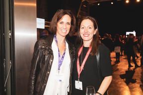 Caroline Schmitz  (BGL BNP Paribas) et Emmanuelle  Thivollard (Maison Moderne) ((Photo: Patricia Pitsch/Maison Moderne))