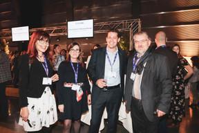 Nadine Filep (Afordia), Marylène Boucard (Inowai), Alexandre Bodak (GCP Consulting) et Eric Balle (Afordia) ((Photo: Patricia Pitsch/Maison Moderne))