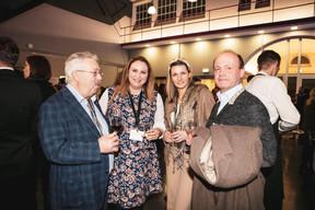 Jean Birgen (Instalfit Aviation), Larissa Thomma (Imperium Real Estate), Julia Ordzanikidze (Atelier de retouche) et Guy Loos (Cabinet Médical) ((Photo: Patricia Pitsch / Maison Moderne))
