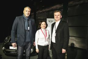 Pietro Marchione (Groupe Marchione), Luciana Restivo (Maison Moderne) et Massimo Del Medico  (NDM Architectura) ((Photo: Patricia Pitsch / Maison Moderne))