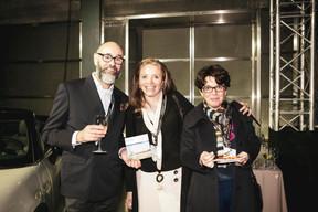 Georges Weyer (Victor), Esmeralda Chupin (Friendship Luxembourg ASBL) et Annick Plein (Cabinet Médical) ((Photo: Patricia Pitsch / Maison Moderne))