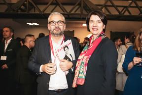 Mike Koedinger (Maison Moderne) et Vania Henry (Legitech) ((Photo: Patricia Pitsch / Maison Moderne))