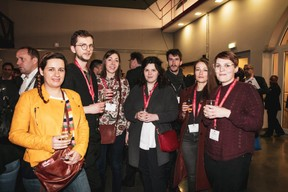 Myriam Morbé, Vinzenz Hölzl, Oriane Pawlisiak, Julie Kotulski et Cassandre Bourtembourg (Maison Moderne) ((Photo: Patricia Pitsch / Maison Moderne))