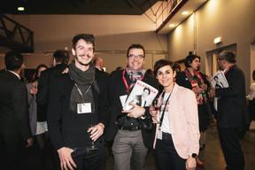 Pierre Pailler, Nicolas Léonard et Jennifer Coghé (Maison Moderne) ((Photo: Patricia Pitsch / Maison Moderne))