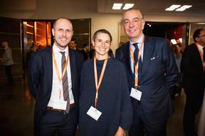 Alessandro Di Roberto (YT Investor Services), Violaine De Maximy, Bob Kneip (Kneip) ((Photo: Jan Hanrion / Maison Moderne))