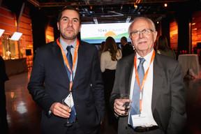 Arnaud Muller et Jean-Pierre Hofnung (SCS) ((Photo: Jan Hanrion / Maison Moderne))