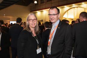 À droite, Denise Voss (Présidente de l'Alfi) ((Photo: Jan Hanrion / Maison Moderne))