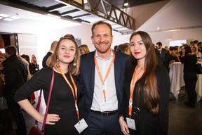 Dominique Carbon (Talentlers), Stéphane Compain (LuxRelo) et Alison Didier (Talentlers) ((Photo: Jan Hanrion / Maison Moderne))
