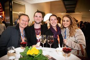 Arnaud Maqua (Maison Moderne), Kevin Burger (Binsfeld), Laetitia Burger (Et Pis C'est Bien!) et Djamila Kettab (Maison Moderne) ((Photo: Jan Hanrion / Maison Moderne))