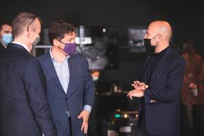 Nicolas Mackel (Luxembourg for Finance) et Serge Krancenblum (IQ-EQ) ((Photo: Simon Verjus/Maison Moderne))