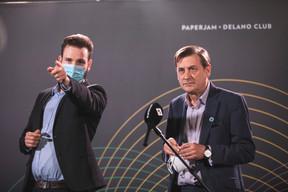 Julien Dickeli (Paperjam + Delano Club) et Marc Gem (Clearstream) ((Photo: Simon Verjus/Maison Moderne))