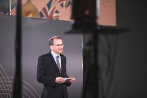 John Marshall (British Ambassador to Luxembourg) ((Photo: Simon Verjus/Maison Moderne))