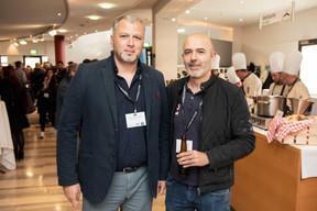 Pietro Marchione (Groupe Marchione) et Marco Ramos (COEBA) ((Photo: Jan Hanrion / Maison Moderne))
