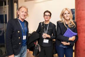 Frank Thoma (Atelier d'Architecture Urbaniste / Aménageur conseils en énergie) et Diane Heirend (Diane Heirend architecture & urbanisme) au milieu ((Photo: Jan Hanrion / Maison Moderne))