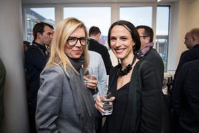 Joanna Grodecki (Monopolka) et Séverine Zimmer ((Photo: Jan Hanrion / Maison Moderne))