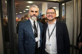 Grégory Gezgin (Gez Immobilière) et Nicolas Tarnus (Tracol Immobilier) ((Photo: Jan Hanrion / Maison Moderne))