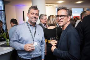 Philippe Grisard (ALPHEMI) et Nico Steinmetz (Steinmetzdemeyer architectes urbanistes) ((Photo: Jan Hanrion / Maison Moderne))