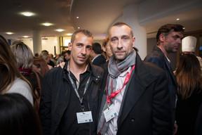 Terence Devivier (TD Terrassement) et Nicolas Pouilleux (Maison Moderne) ((Photo: Jan Hanrion / Maison Moderne))