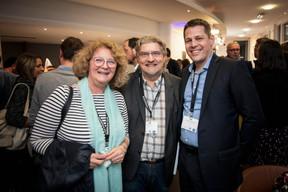 Myriam Muller (Advitek), Eric Balle (Afordia) et Alexandre Bodak (GCP Consulting) ((Photo: Jan Hanrion / Maison Moderne))