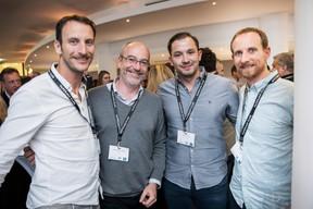 Alain Grivegnee (Allset), Bruno Leite (JOA Design) et Greg Leroy (Wyld) ((Photo: Jan Hanrion / Maison Moderne))