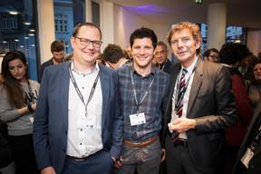 Jérôme Wiwinius (Lalux), Timothy Fernandes (Lalux - Aprobat) et Claude Wagner (Bati-C) ((Photo: Jan Hanrion / Maison Moderne))