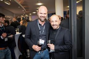 Guittou Muller (G+P Muller Architectes) et Stéphane Di Carlo (EGB Hornung & Associés) ((Photo: Jan Hanrion / Maison Moderne))