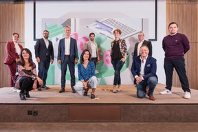 Ilana Devillers (Food 4 All), Marc Sniukas (Deloitte), Julie Lhardit (Paperjam Club), Marc Payal (Fujitsu Technology Solutions), Amélie Madinier (Le Village by CA), Raphaël Frank (SnT), Annabelle Buffart (Inspiiro.me), Pedro Castilho (Verbalius), Richard Russell (Working Backwards), Guillaume Dollé (Vanksen) ((Photo: Jan Hanrion/Maison Moderne))