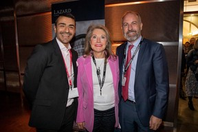 Richard Karacian (Maison Moderne, Nathalie Crahay (Sador Luxembourg) et Fabien Vrignon (Keytrade Bank Luxembourg) ((Photo: Jan Hanrion/Maison Moderne))