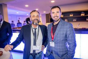 Philippe Guilloteau (Workinov) et Mikaël Spezzacatena (Maison Moderne) ((Photo: Jan Hanrion/Maison Moderne))