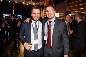 Aurélien Jacques (Keytrade Bank Luxembourg) et Matthieu Boachon (Banque de Luxembourg Investments) ((Photo: Jan Hanrion/Maison Moderne))