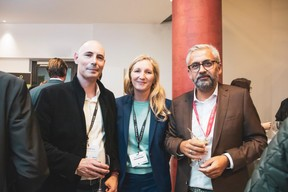 Mathias Fritsch (Beiler Frabçois Fritsch), Juliette Feitler, Mike Koedinger (Maison Moderne) ((Photo: Patricia Pitsch/Maison Moderne))
